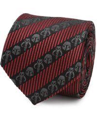 Star Wars Mandalorian Stripe Tie - Red