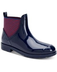 Charter Club Lavanna Rain Boots, Created For Macy's - Blue
