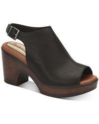 b.ø.c. Sheila Comfort Sandals - Black