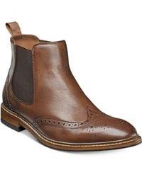 Florsheim - Men's Streets Wingtip Gore Boots - Lyst