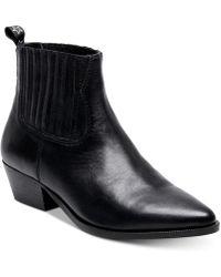 Steve Madden - Westie Ankle Booties - Lyst