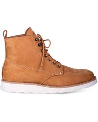 Dingo - Harpo Wedge Lace Up Boot - Lyst