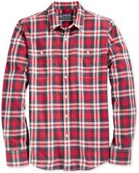 American Rag - Washed Plaid Shirt, Created For Macy's - Lyst