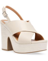 DV by Dolce Vita Cypress Platform Wedge Sandals - Multicolour