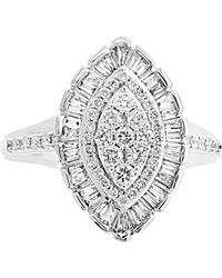 Effy Collection Effy® Diamond Marquise Cluster Ring (3/4 Ct. T.w.) In 14k White Gold