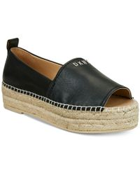 DKNY - Mer Peep-toe Espadrille Sandals,created For Macy's - Lyst