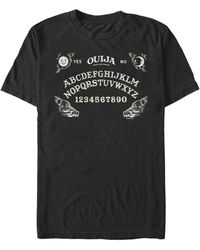 Fifth Sun Ouija Board Short Sleeve Crew T-shirt - Black