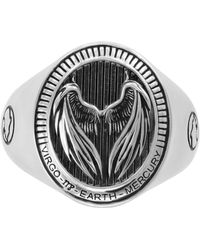 Effy Collection Zodiac Ring In Sterling Silver
