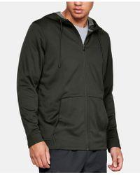 3728437eb Under Armour Men's Ua Storm Armour® Fleece Big Logo Hoodie for Men - Lyst