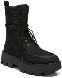 Franco Sarto Margey 2 Mid Shaft Boots - Black