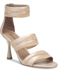 87c0e4875ae Lyst - Donald J Pliner Donald J Pliner Brook Wedge Sandals in White