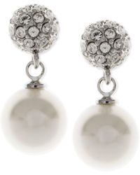 Givenchy - Pearl Fireball Drop Earrings - Lyst