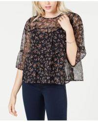 Vince Camuto - Ruffled Top - Lyst