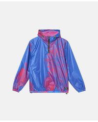Wesc Hyper Bliss Windbreaker Jacket - Blue