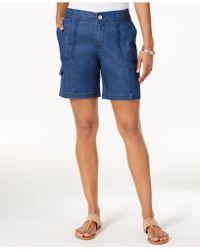 Style & Co. Bermuda Shorts - Blue