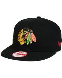 KTZ - Chicago Blackhawks All Day 9fifty Snapback Cap - Lyst