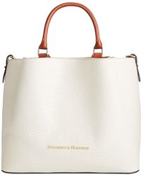 Dooney & Bourke Lizard Embossed Leather Large Barlow Tote, Created For Macy's - Multicolour