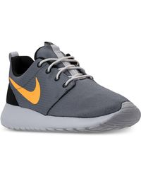 5b87cdc0be18f Lyst - Nike Mens Roshe Run Hype Casual Sneakers From Finish Line in ...