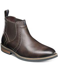 Nunn Bush Otis Chelsea Boots - Brown