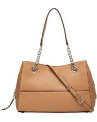 CALVIN KLEIN 205W39NYC - Marie Leather Satchel - Lyst