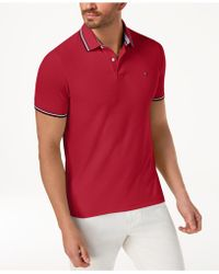 Tommy Hilfiger - Winston Classic Fit Polo, Created For Macy's - Lyst