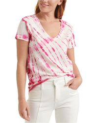 Lucky Brand Essential Tie-dyed T-shirt - Pink