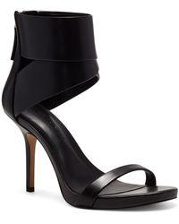 INC International Concepts Aminah Abdul Jillil For Inc Reem Dress Sandals, Created For Macy's - Black