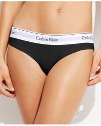 Calvin Klein - Modern Cotton Bikini F3787 - Lyst