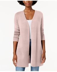 Charter Club - Ribbed-knit Open-front Cardigan, Created For Macy's - Lyst