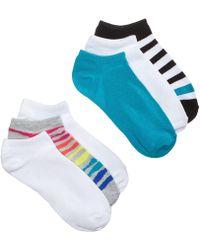 Hue - ® 6-pk. No-show Liner Socks - Lyst
