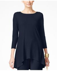 Alfani | Jersey High-low Tunic, Only At Macy's | Lyst
