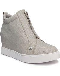 Juicy Couture Joanz Wedge Sneaker - Gray
