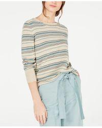Weekend by Maxmara - Esordio Linen Striped Sweater - Lyst