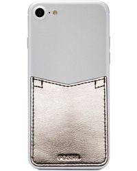 Fossil - Phone Case Pocket Sticker - Lyst
