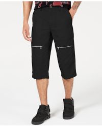 INC International Concepts Andrew Messenger Shorts, Created For Macy's - Black