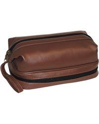 Dopp Jumbo Framed Travel Kit With Bonus Items - Brown