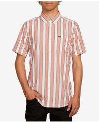 Volcom - Thebold Striped Shirt - Lyst