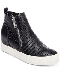 Steve Madden - Wedgie Wedge Trainers - Lyst