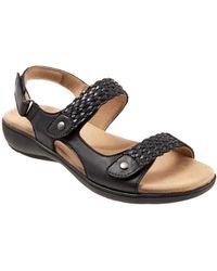 Trotters Teresa Slip On Sandal - Black