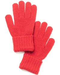 Style & Co. Rib Solid Gloves, Created For Macy's - Red