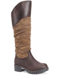 Muk Luks Kailee Tall Boots - Brown