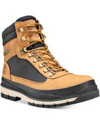 Timberland Field Trekker Waterproof Leather Combat Boots - Multicolor
