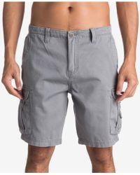 Quiksilver Crucial Camo Shorts - Gray
