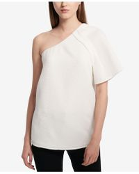 Calvin Klein 205W39nyc one shoulder top Outlet Best NDN9sri