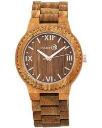 Earth Wood - Bighorn Wood Bracelet Watch Olive 46mm - Lyst