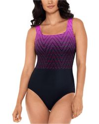 Reebok Endless Endurance One-piece Swimsuit - Pink