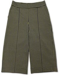 Charter Club Cropped Wide-leg Pants, Created For Macy's - Green