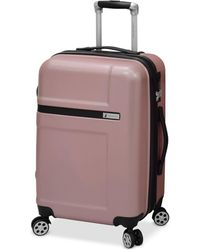 """London Fog - Southbury 21"""" Hardside Expandable Spinner Carry-on Suitcase - Lyst"""