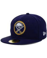 KTZ - Buffalo Sabres Nhl Basic 59fifty Cap - Lyst