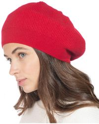 Charter Club Cashmere Beret, Created For Macy's - Red